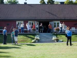 Fra Nettverksbankkens samling på Karlsvik Gård (Foto: Kjellaug Breian Langø)