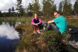 Ved Ounasjärvi i Enontekiö